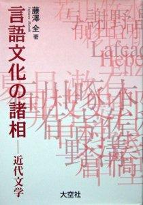 『言語文化の諸相 −近代文学−』 藤沢全