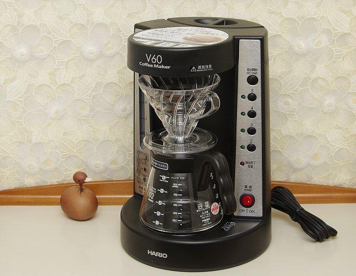 ハリオ V60コーヒーメーカー 珈琲王 ブラック ネオセレクト