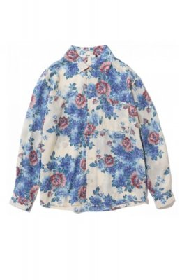 .efiLevol flower pattern shirt