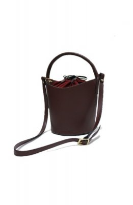 C'ast vauge leather shoulder bag(wine)