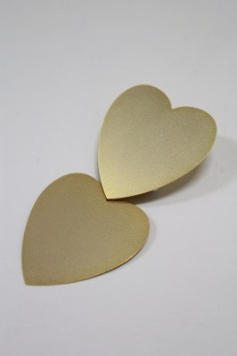 THEATRE PRODUCTS metal heart tiepin(gold)
