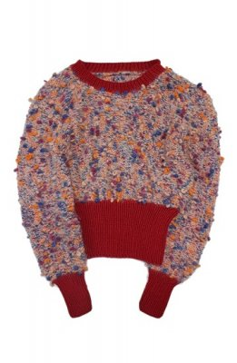 SUNNY VINTAGE 80s hand made knit