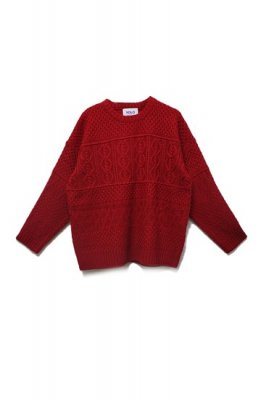YOLO cable knit tops