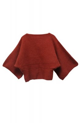 Lilly Lynque knit tops(orange)