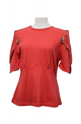 DECO depuis 1985 oblong sleeve t-shirts(red)