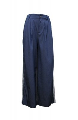 CONICAL mesh line wide pants