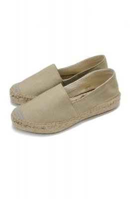 HOLIDAY double sole Espadrille(beige)