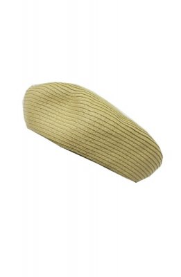 Cooco paper braid beret(natural)