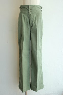 HOLIDAY military wide pants(khaki)