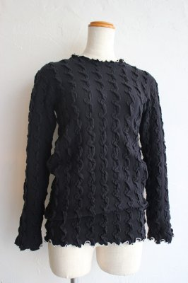 THEATRE PRODUCTS shirring pullover(black)