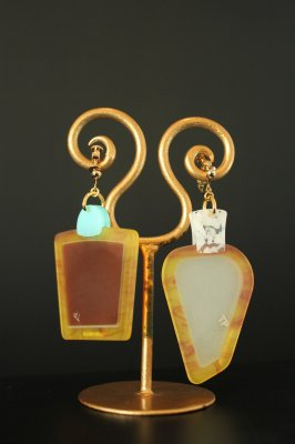 THEATRE PRODUCTS smoke bottle earring