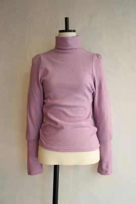 HOLIDAY pale color high neck tops