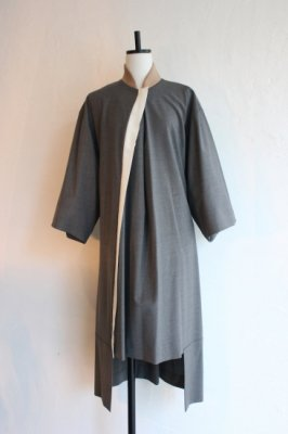 CONICAL summer wool dress