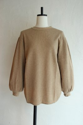 KIN gather sleeve pullover(Chameau)