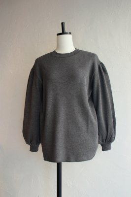 KIN gather sleeve pullover(gris)