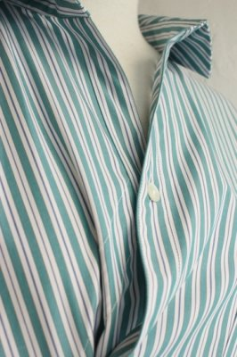 EFILEVOL Striped Clipton Shirt(green)