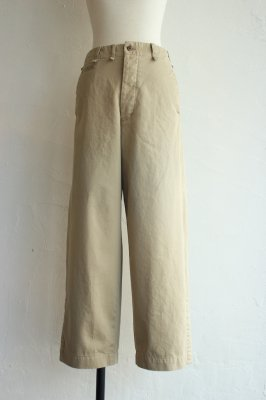 THE NERDYS classic chinos pants(beige)