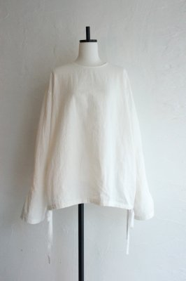 HOLIDAY cotton line smog(white)