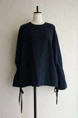 HOLIDAY cotton line smog(navy)