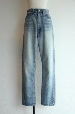 HOLIDAY high waist wide denim pants(wash)
