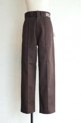 HOLIDAY Dickies pin tuck pants(brown)
