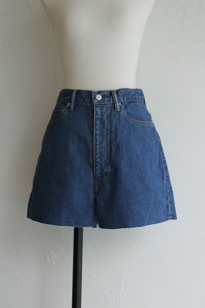 HOLIDAY high waist denim short pants