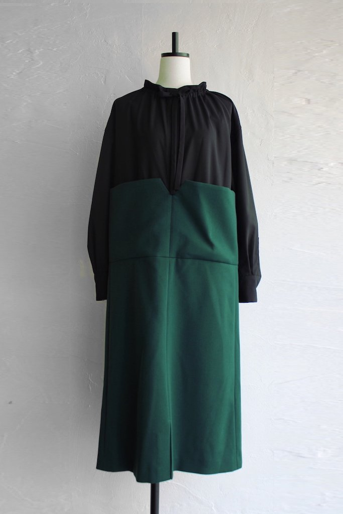 CONICAL block dress