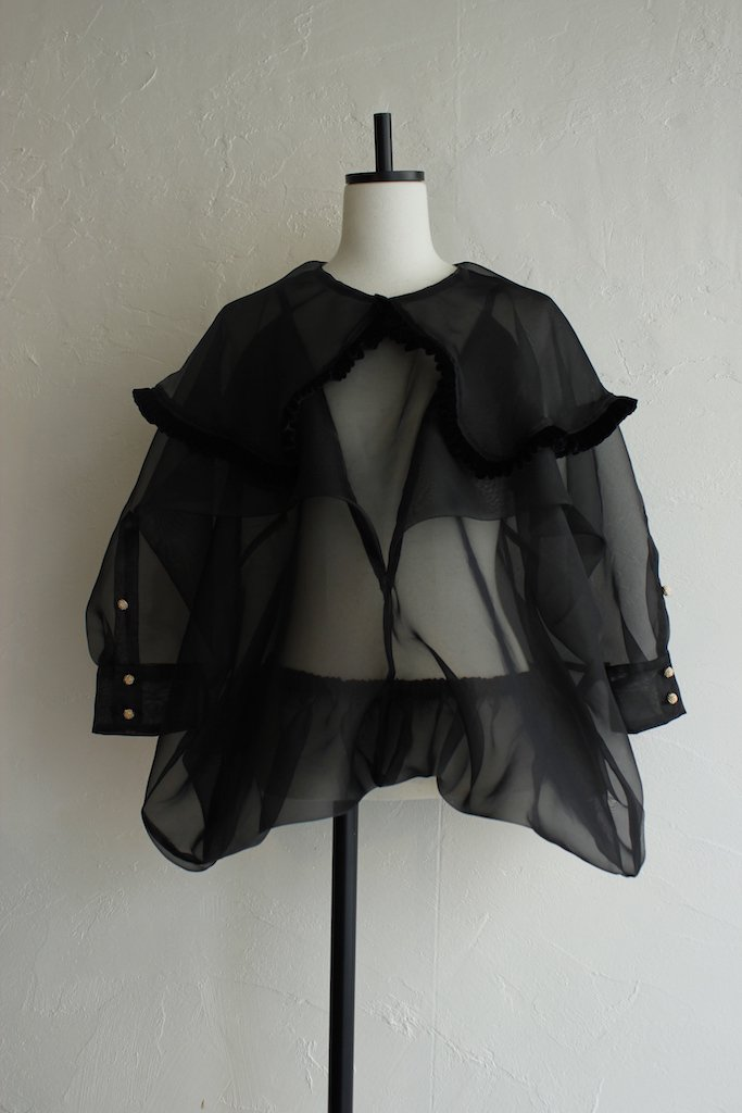 DECO depuis 1985 frill collar big shirt