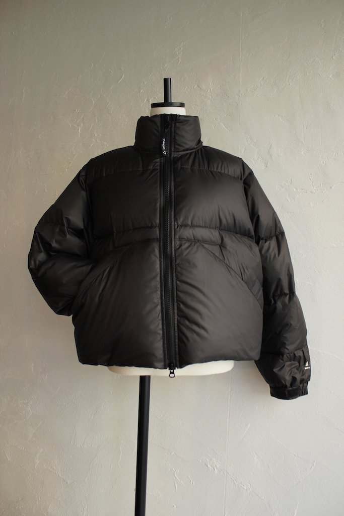 EFILEVOL puff jacket collaboration with GERRY(black)