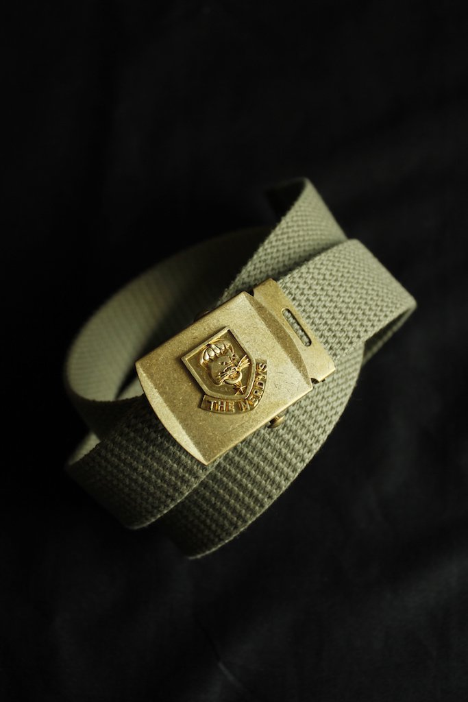 THE NERDYS military belt(khaki)