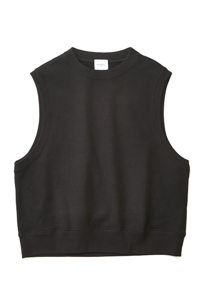 EFILEVOL sweat vest(black)