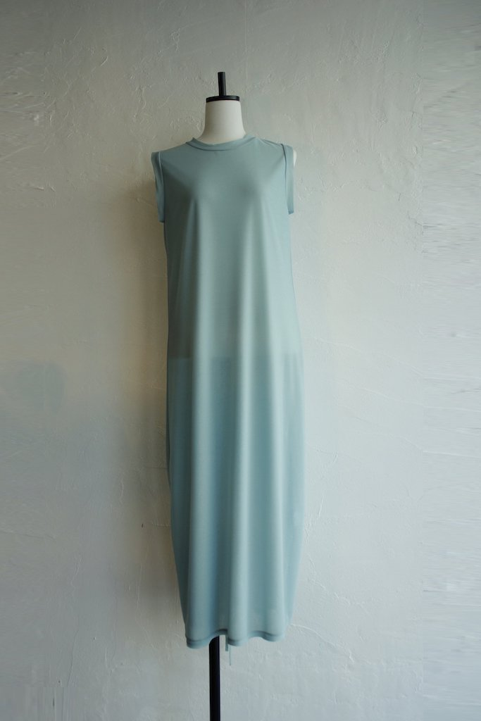 TARO HORIUCHI back dorosuto dress(mint)