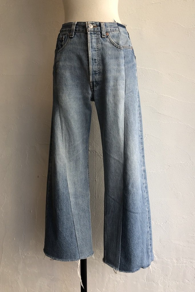 Kidole. remake denim pants