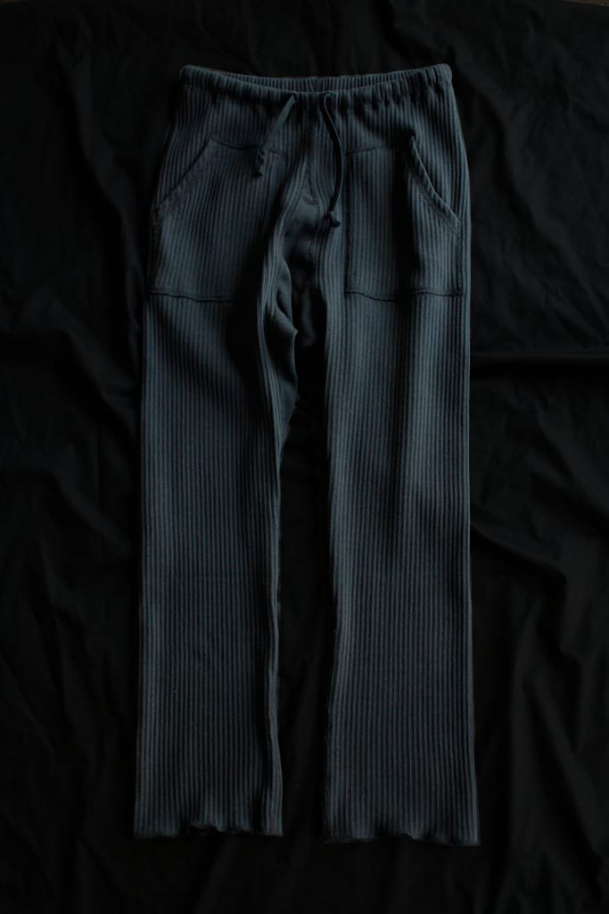OSHIMA REI swedish army trainer pants(noir)