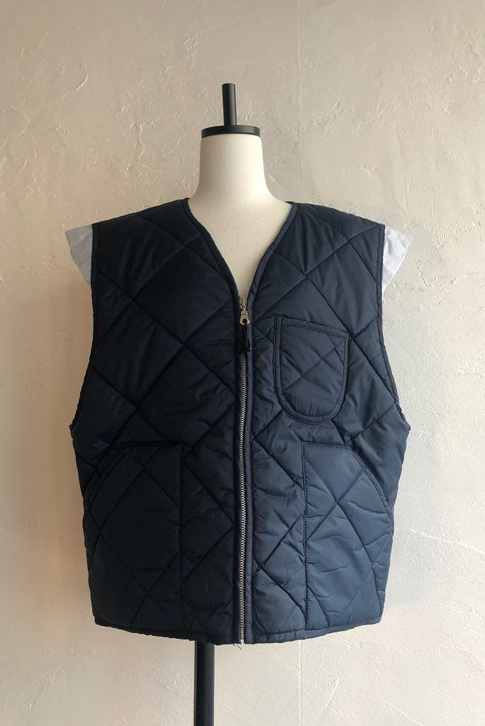 Kidole. frill quilting vest