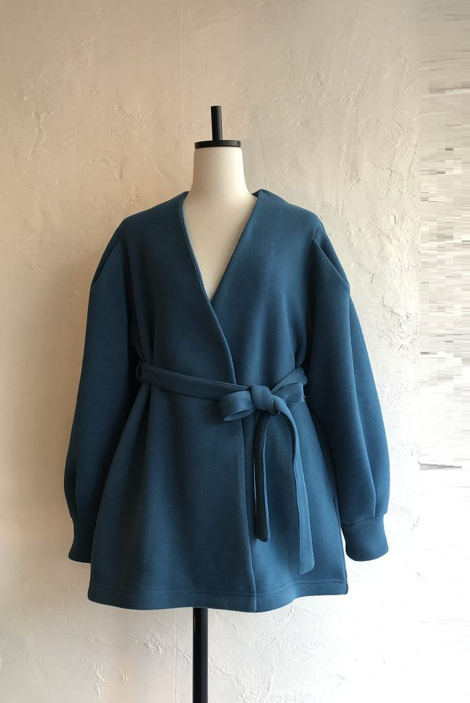 HOLIDAY THERMAL PRO fleece gown(blue)