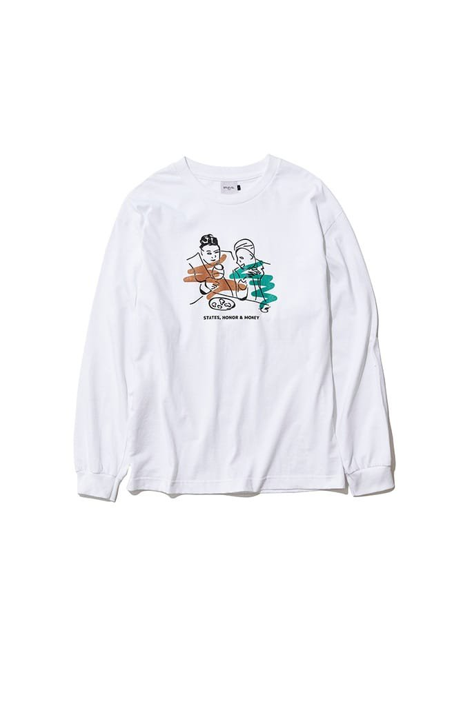 EFILEVOL S.H.M long sleeve t shirt