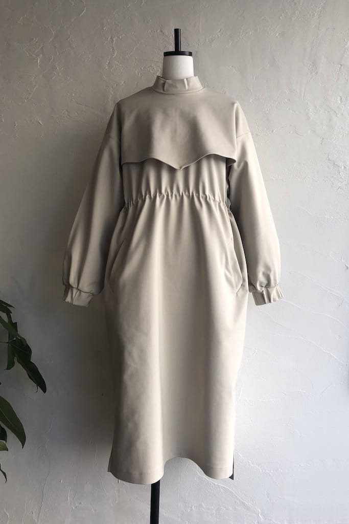 EFILEVOL layered dress(L.grey)