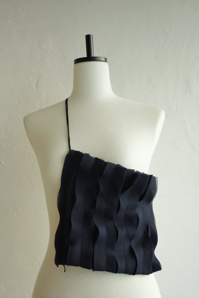 CONICAL cutting frill bag(navy)
