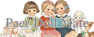 【Paper doll mate】ペーパードールメイト(ポーチ)