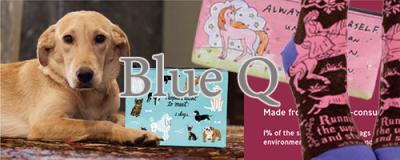 【Blue Q】ブルーキュー(ポーチ&コインケース)