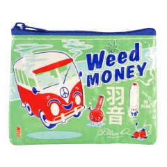 【Blue Q (ブルーキュー)】コインケース「Weed Money」<img class='new_mark_img2' src='https://img.shop-pro.jp/img/new/icons1.gif' style='border:none;display:inline;margin:0px;padding:0px;width:auto;' />