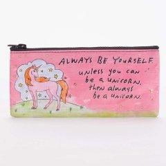 【Blue Q(ブルーキュー)】ペンケース「Always Be A Unicorn」