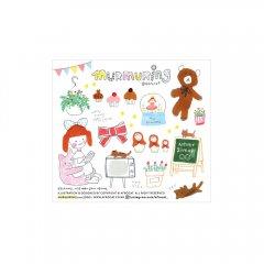 ペーパードールメイト【インス】/afrocat factory sticker.7