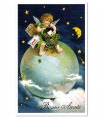 【Paris】クリスマスポストカード(xmas-2)