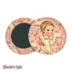 ペーパードールメイト/丸くて可愛いポケットミラー/ver.3(Julie)