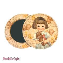 ペーパードールメイト/丸くて可愛いポケットミラー/ver.3(Sally)