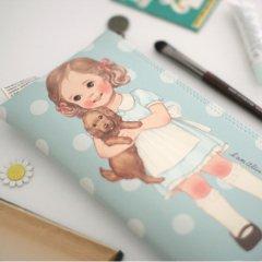 【復刻版】かわいいペンケース&ポーチ/ペーパードールメイト/ポーチ5_Alice