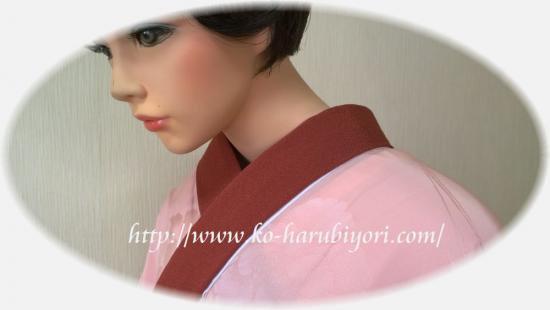 着付師【12】半衿の付け方(2)縫わない!簡単&綺麗な半衿つけ●着付用両面テープ不要!