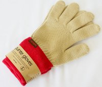 unsm(ウンズム)  gunte gloves solid 軍手 BEG